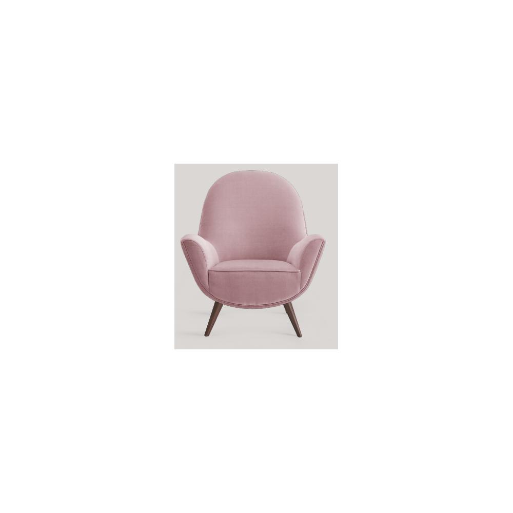... PRISCILLA Midcentury Modern Pink Armchair