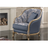 JERRY curved armchair