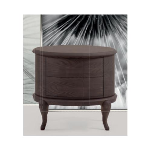 MARACANA oval bedside table