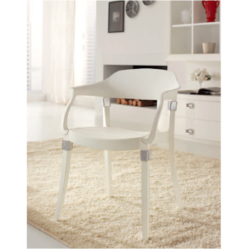 GLAMOUR  polypropylene dining chair